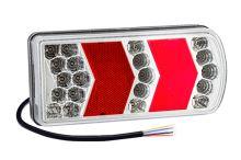 Sdružené koncové LED světlo Luminex s kabelem, pravé
