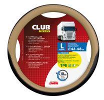 Potah volantu Lampa Club 46-48 cm, černý-béžový