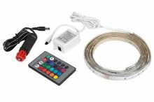 LED pásek do auto zapalovače, RGB