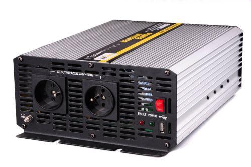 Měnič  12V/230V AC 2000W trvale