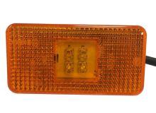 Poziční světlo Scania LED s kabelem, oranžové