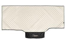 Přehoz na postel Volvo FH4, béžová koženka