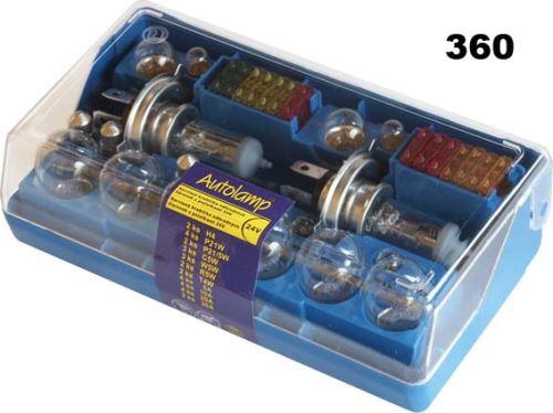krabička 2x H4 24V univerzální