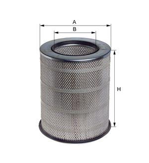 Vzduchový filtr Volvo FH, FM
