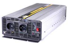 Měnič napětí z 24V na 230V, 5000W