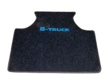 Stredový koberec Scania 124 Topline, modrý
