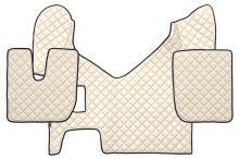 Kožené koberce Iveco Stralis Hi-Way, manual, béžové