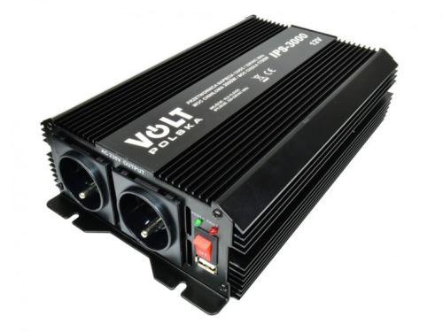 Měnič napětí z 12V na 230V, 1700W - použitý