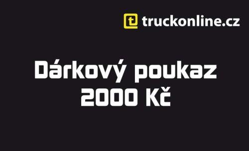 Dárkový poukaz 2 000Kč