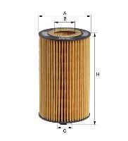Olejový filter MANN HU931 / 5X