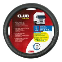 Potah volantu Lampa Club 46-48 cm, černý