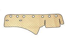 Koženka na palubní desku Scania R, béžová