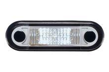 Poziční světlo 1x LED bílé zápustné