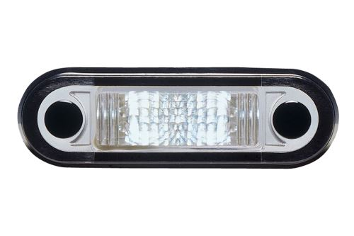 Pozičné svetlo 1x LED biele zápustné