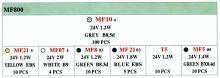 Prodejní box plastové žárovky 24V 159ks EAGLEYE
