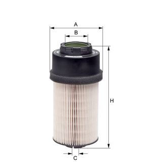 Palivový filtr HENGST E66KP D36