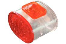 Sklo parůžky Superpoint červená / biela