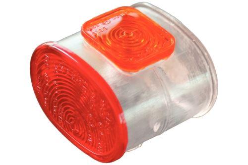 Sklo parůžku Superpoint červená/bílá