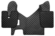 Kožené koberce Iveco Stralis Hi-Way, manual, čierne
