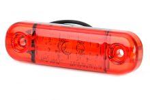 Poziční světlo WAS 3x LED, červené