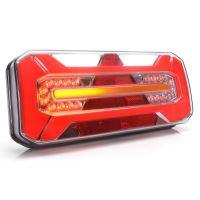 Koncový světlomet sdružený LED WAS W184DD s trojúhelníkem, pravé