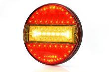 Koncový svetlomet LED guľatý WAS, W92