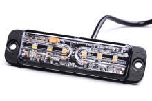Stroboskop PREDATOR 6x5W LED, oranžový