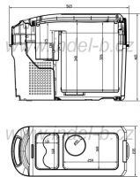 Kompresorová lednice Indel B TB18