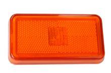 Bočné odrazové sklo Scania oranžová