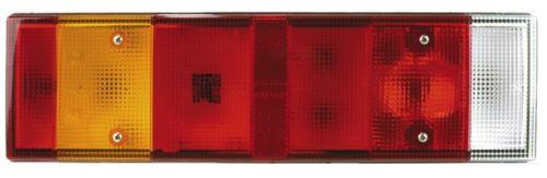 Koncový světlomet Iveco Stralis, s osvetlenim SPZ, levý