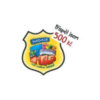 Samolepka Truck HELP 500