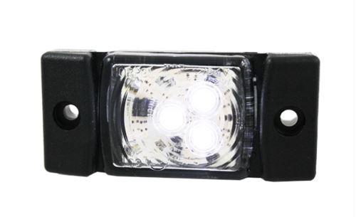 Poziční světlo 3x LED bílé