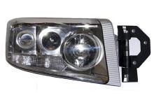 Hlavní světlomet Renault Premium od 2005 stříbrný, pravý