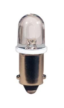 blister 2ks LED 12V 4W BA9s číra