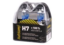 H7 12V 55W PX26d + 100%, krabička 2ks