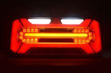 Koncový světlomet sdružený LED WAS W184DD s trojúhelníkem, levý