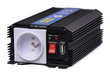 Menič napätia z 24V na 230V, 300W, USB