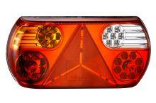 Sdružené koncové LED světlo Luminex s konektorem, levé