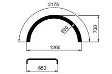 Blatník WL 650x2175