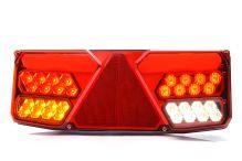 Koncový světlomet sdružený s trojúhelníkem LED, 12/24V, levý
