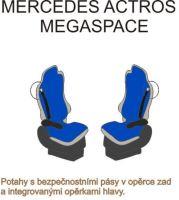 Autopotahy MB Actros MP2/MP3, červené