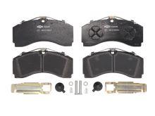 Přední brzdové destičky MB Actros MP4