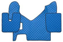 Kožené koberce Iveco Stralis Hi-Way, manual, modré