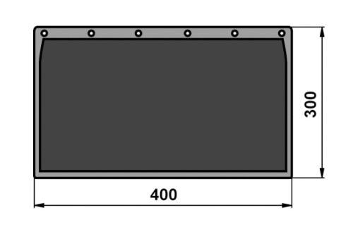 zásterka 400x300mm