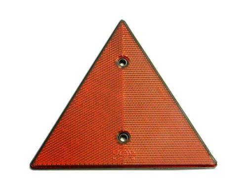 Odrazka trojuholník červený UT-150