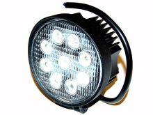 Pracovní světlomet, 9 LED, kulatý