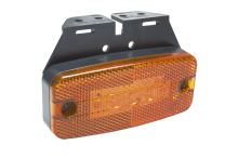 Poziční světlo oranžové LED s držákem Ginaf