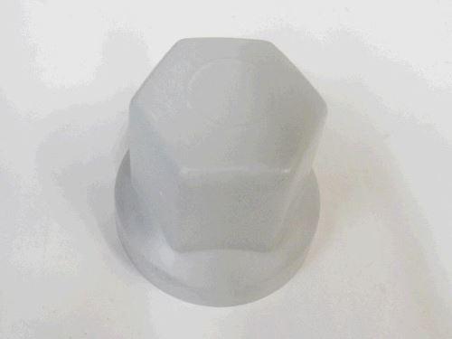 Krytka kolového šroubu 32 mm, šedá, nižší