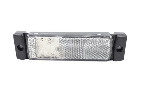 Pozičné svetlo LED s odrazkou, biele