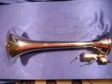 Vzduchová fanfára 38cm, guľatá